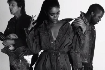Kanye West estrena videoclip(s) y nos muestra su lado más familiar