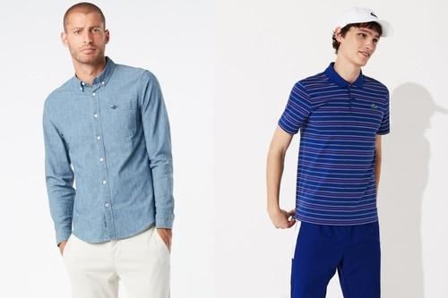 Rebajas de moda en El Corte Inglés: 50% de descuento en polos, camisetas o pantalones de marcas como Dockers, Ralph Lauren o Lacoste
