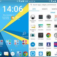 Ya puedes convertir tu móvil Android en una BlackBerry Priv... sin teclado físico