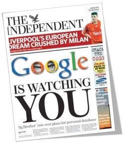 Google ya tiene listo su almacenamiento online para nuestros datos
