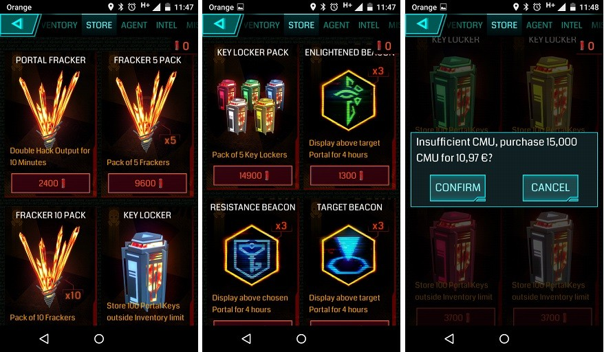 Ingress Inapp