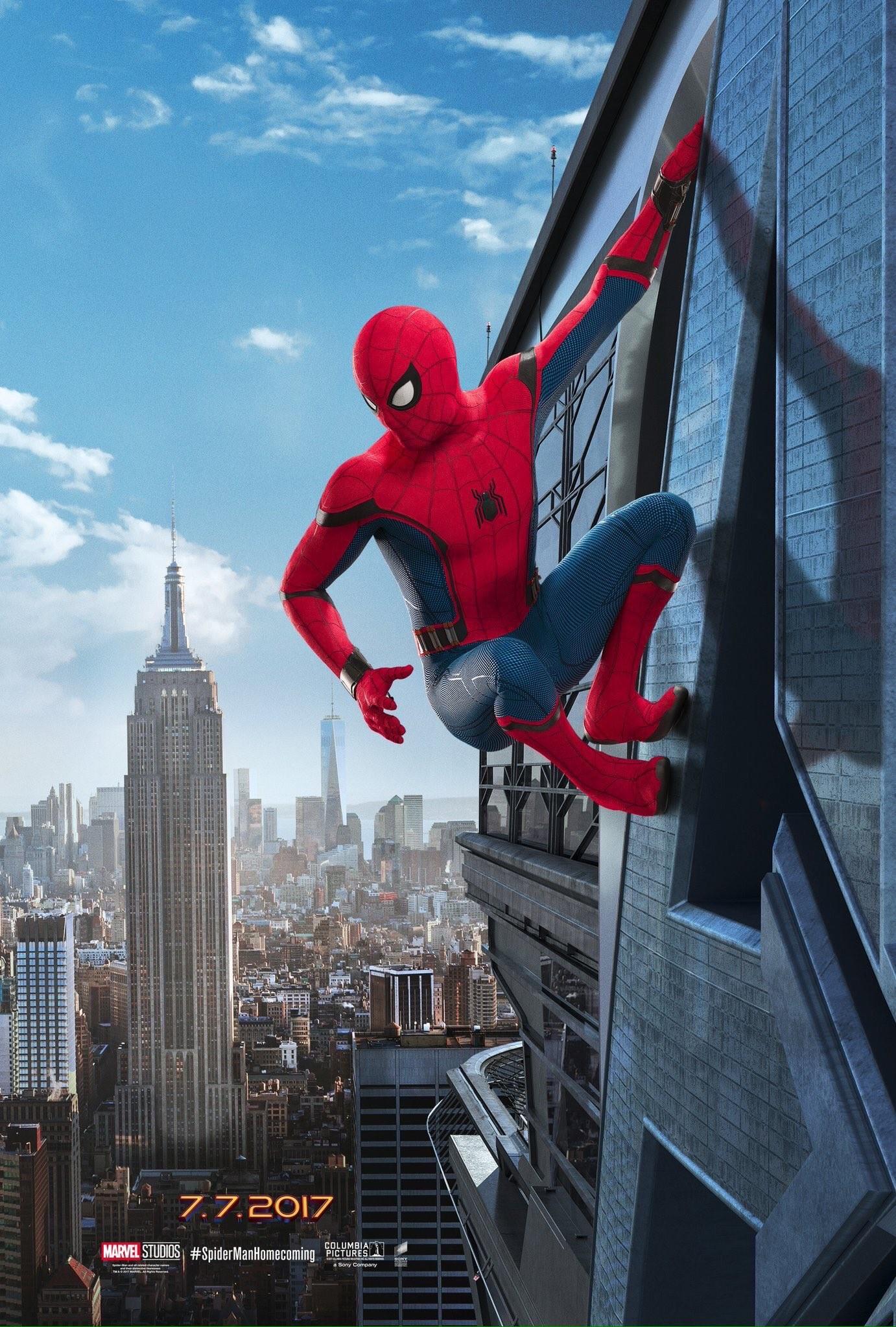 Foto de 'Spider-Man: Homecoming', primeros carteles (2/3)