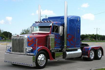 Réplica de Optimus Prime a la venta en eBay