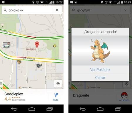 Toma el reto Pokémon en Google Maps.
