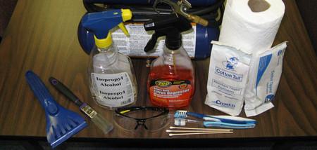 Utiles de limpieza