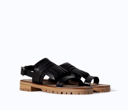Sandalia Marni flecos Primavera-Verano 2014 clon Zara