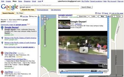 Google Maps integra vídeos, fotos y libros en los resultados