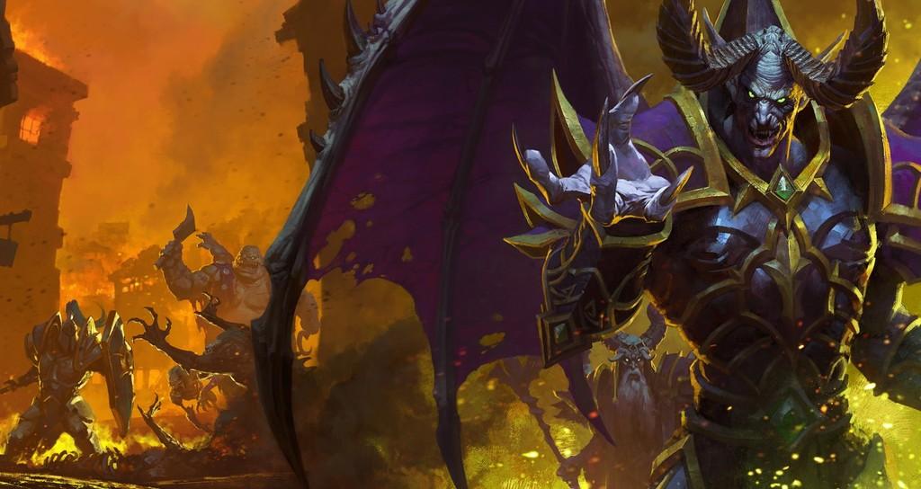 El equipo de Warcraft III:  Reforged