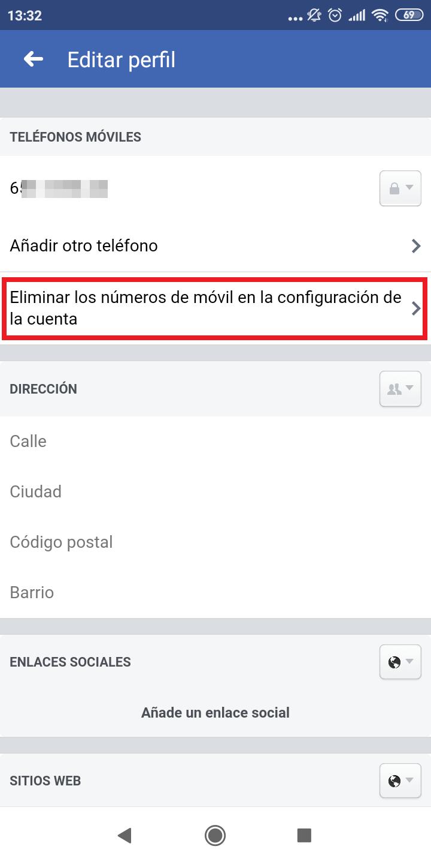 ¿Como eliminar tu numero de teléfono de Facebook? / Foto: Xataka