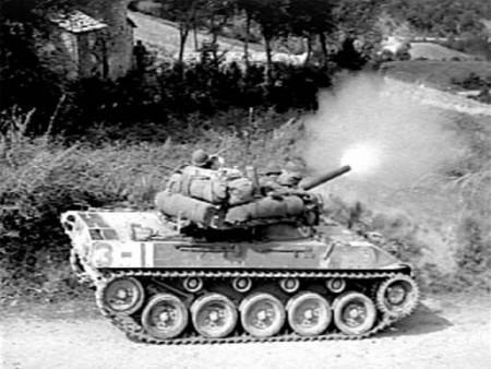 M18 Hellcat Fires Italy