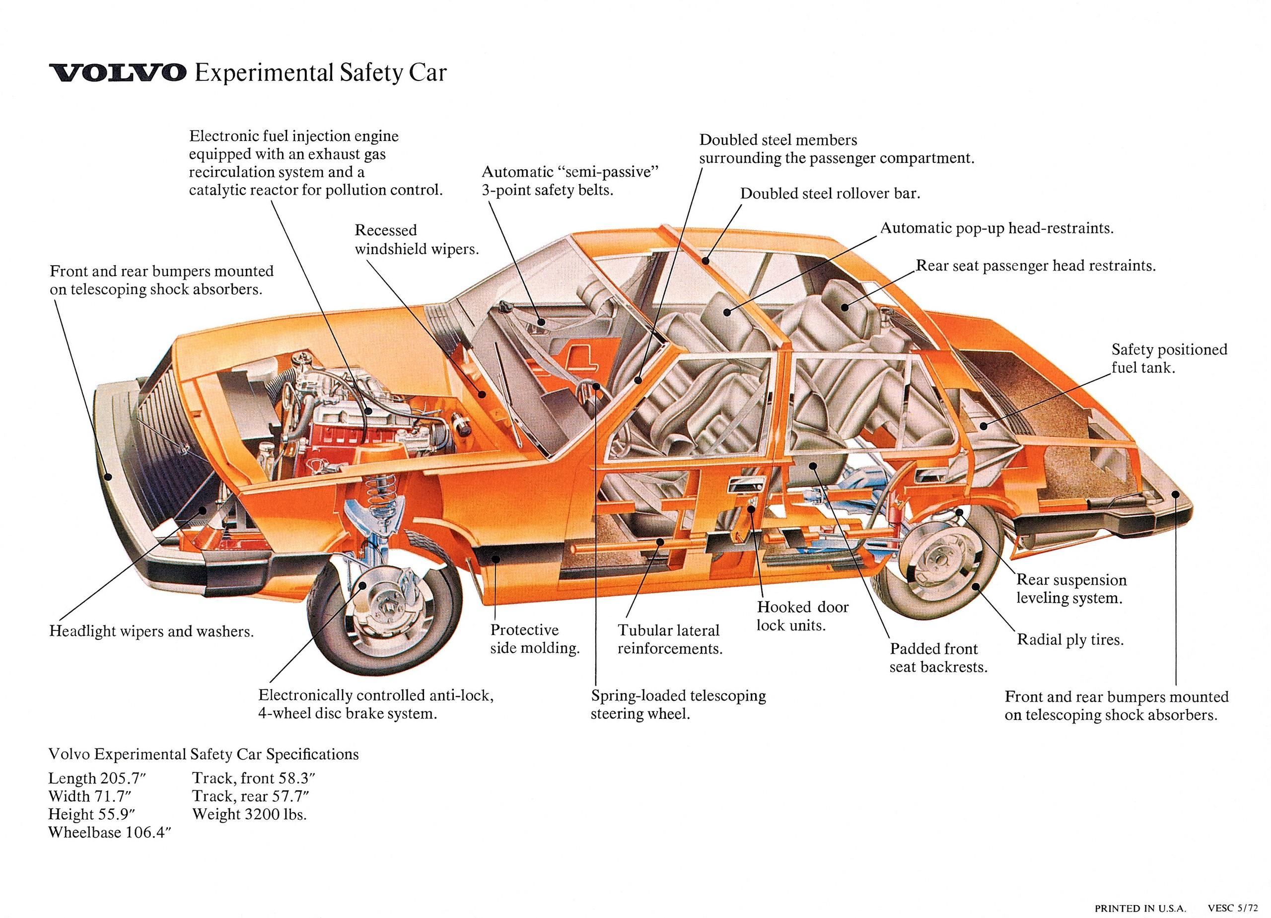 Foto de Volvo Experimental Safety Car 1972 (14/14)