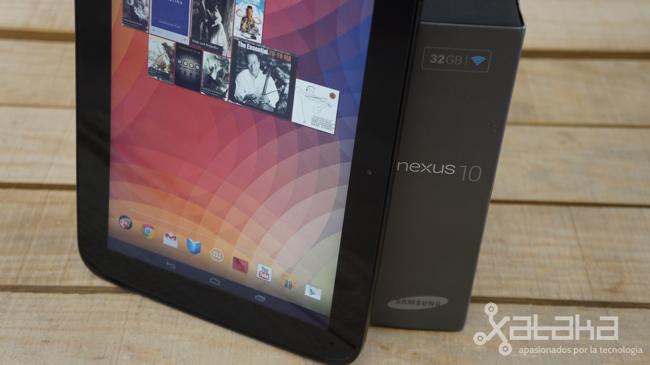 Nexus 10 análisis a fondo en Xataka