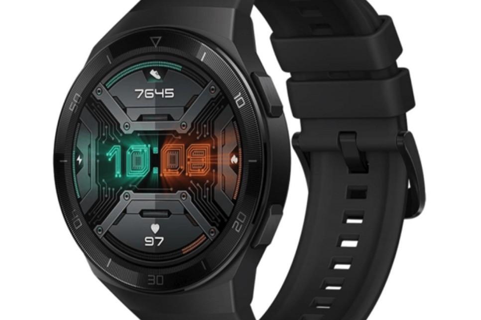 ceci est le Huawei Watch GT 2e, la smartwatch qui viennent avec le Huawei P40 et il a été filtré par l