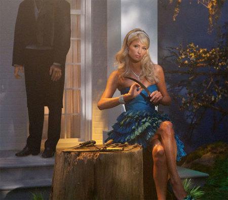 Paris Hilton se convirtió en un dios en 'Supernatural'