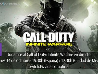 Streaming de Call of Duty: Infinite Warfare hoy a las 19:30h (las 12:30h en Ciudad de México) [finalizado]
