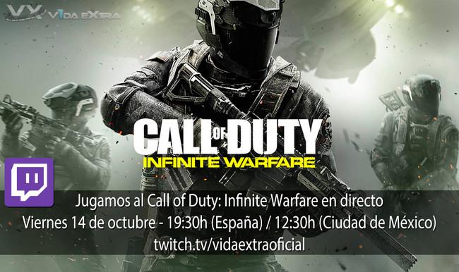 Streaming Call of Duty Infinite Warfare