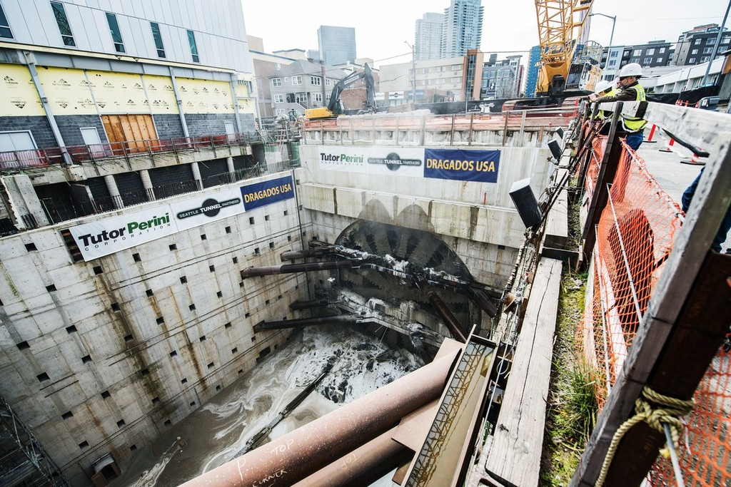 Bertha Tunneling Machine6 1