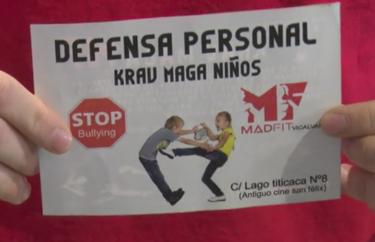 La violencia no es la solución: un gimnasio ofrecía clases de defensa personal contra el acoso escolar