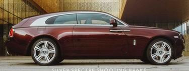 Rolls Royce Silver Spectre Shooting Brake, Carat Duchatelet convierte al sedán británico en una alocada vagoneta