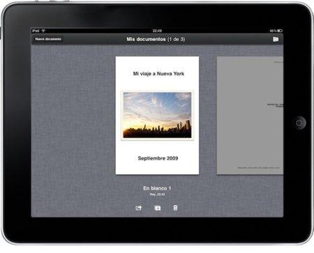 iWork para el iPad se actualiza con interesantes novedades
