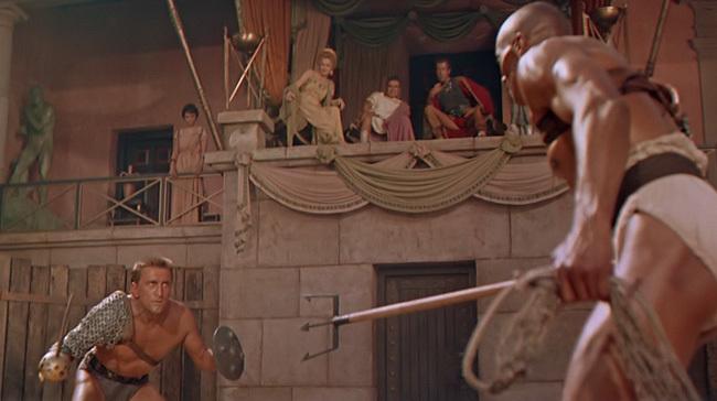 Escena de 'Espartaco'