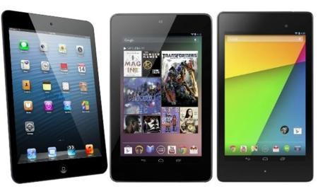 Comparamos iPad mini vs Nexus 7 original vs nuevo Nexus 7
