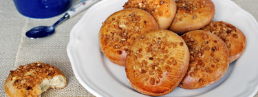 Galletas de aceite de oliva con crocanti de almendra, receta de pastas sin lactosa