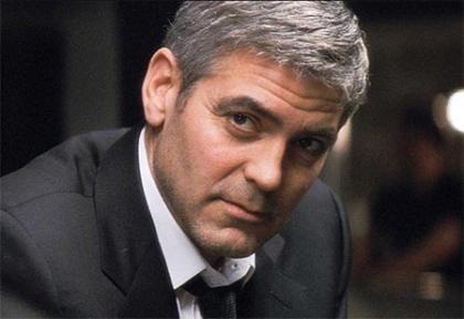 George Clooney y el travestismo