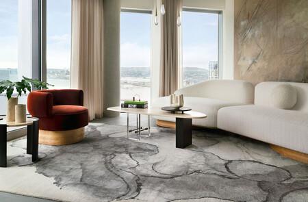 La naturaleza y las formas orgánicas de la geografía americana inspiran la última colección de alfombras de The  Rug Company