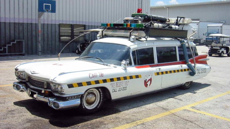 Cadillac Ecto1a Ghostbusters