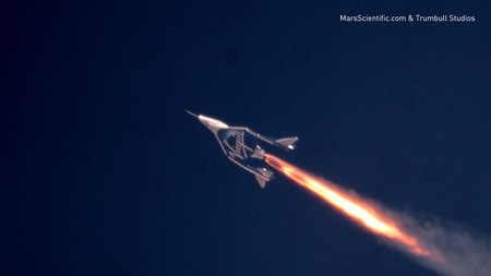 Virgin Galactic S Third Powered Flight