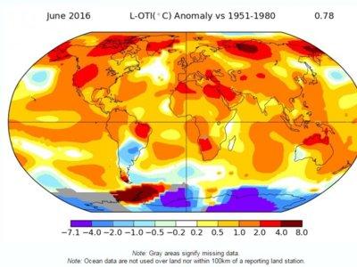 Hemos roto el récord del año más caluroso. Diez veces seguidas