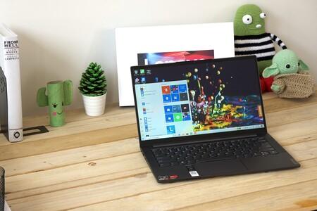 Lenovo Yoga Slim 7, análisis: el Ryzen 7 4800U lleva a este ultrabook a otro nivel de rendimiento y autonomía