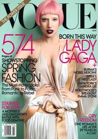 Lady Gaga en portada de Vogue: ¿cuándo acabará este horror?