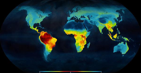 Map Latitudinal Gradient Of Biodiversity Mannion 2014