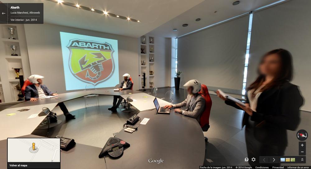 Paseo virtual por las oficinas Abarth