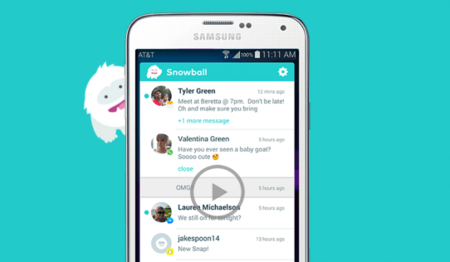 Snowball: una única bandeja de entrada para unir los mensajes de todas las apps de mensajería