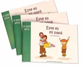 Este es mi papá, un libro personalizado para regalar el Día del Padre
