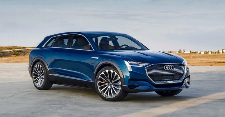 Audi E Tron Concept Suv