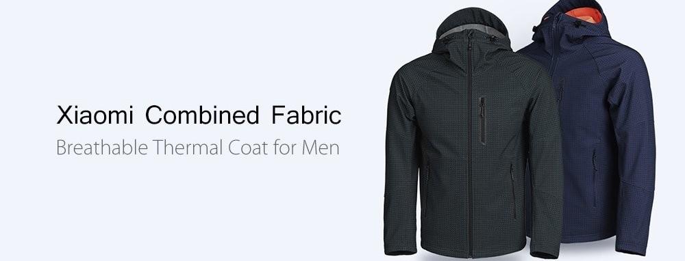 moda de lujo diseños atractivos Amazonas Chaqueta térmica Xiaomi Combined Fabric por 43 euros y envío ...