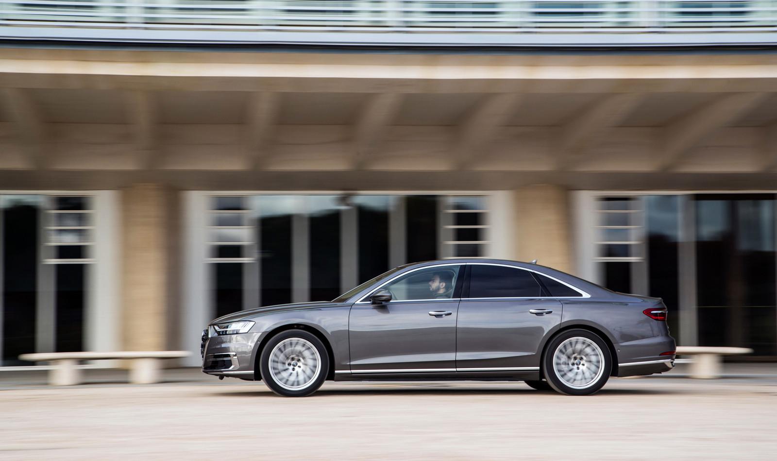 Foto de Audi A8 2018 (presentación) (19/81)