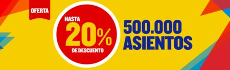 Ryanair Oferta Más De 500 000 Asientos Con Un 20 De
