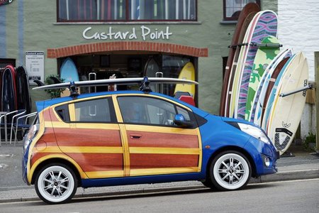 Chevrolet Spark Woody Wagon