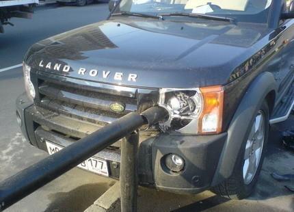 Plato del día: brocheta rusa de Land Rover Discovery