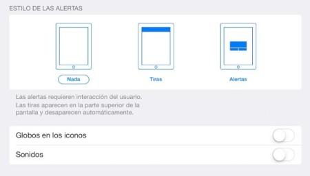 notificaciones alertas ios 7 apple
