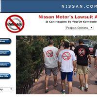 Nissan mete la pata por Twitter y enlaza a una página de ordenadores que odia a Nissan