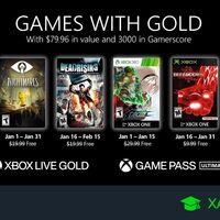 Juegos de Xbox Gold gratis para Xbox One y 360 de enero 2021