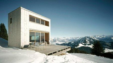 Casas que inspiran: una villa en los Alpes