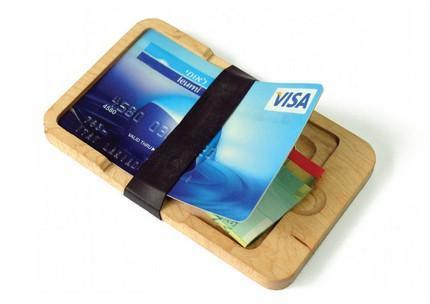 Wood Wallet, una cartera de madera