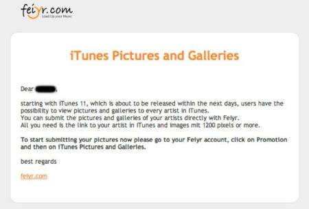 """Apple avisa a los artistas: iTunes 11 llegará """"en los próximos días"""" y hay que estar preparados"""